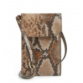 Leather Phone Crossbody Bag