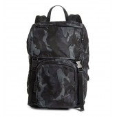 Tessuto Camo Nylon Backpack