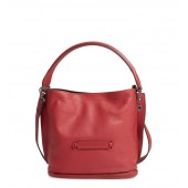 3D Leather Bucket Bag