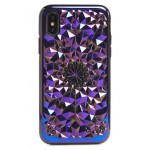 Cosmic Kaleidoscope iPhone X Case