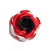 Satin Lapel Flower