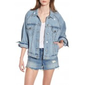 Raglan Denim Jacket
