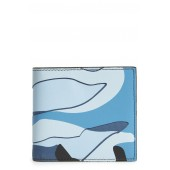 GARAVANI Camo Canvas & Leather Wallet