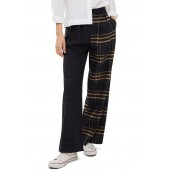 Sammy Mixed Check Wide Leg Trousers