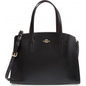 Charlie Patent Leather Tote