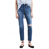 Wedgie Icon Fit Ripped High Waist Ankle Jeans