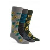 3-Pack Novelty Socks Box Set