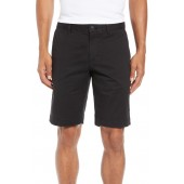 Slim Fit Stretch Cotton Shorts