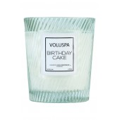 Macaron Classic Textured Glass Candle