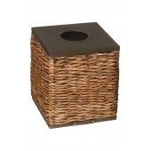 Retreat Wicker Tissue Box Cover