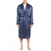 Sapphire Silk Robe