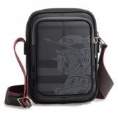 Freddie London Check Compact Messenger Bag