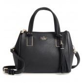 kingston drive - small alena leather satchel