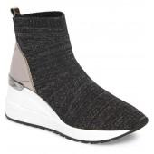 Neo Flex Metallic Wedge Sneaker
