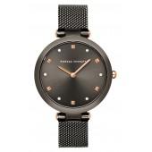 Nina Mesh Strap Watch, 33mm
