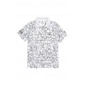 Novak Djokovic Print Polo Shirt