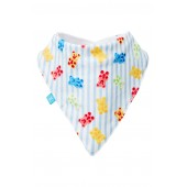 x Sugarfina Boo Bear Organic Cotton Magnetic Bib