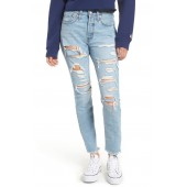 501<sup>®</sup> Ripped High Waist Skinny Jeans
