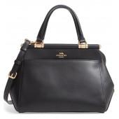 Grace Calfskin Leather Satchel