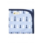 Chess Master Coming Home Stretch Organic Cotton Blanket
