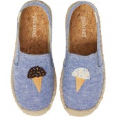 Ice Cream Embroidered Espadrille