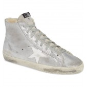 Francy High Top Sneaker with Genuine Shearling