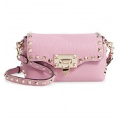 Rockstud Mini Calfskin Leather Crossbody