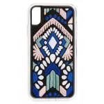 Geometric Embroidery iPhone X/Xs, XR & X Max Case