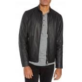 1b7c6b2f8c7 Morvek L.Burgos Trim Fit Leather Jacket