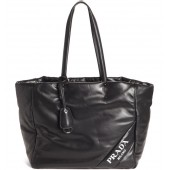 Nappy Calfskin Leather Tote