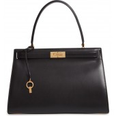 Lee Radziwill Small Leather Satchel