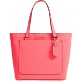 thompson street - kimberly leather tote