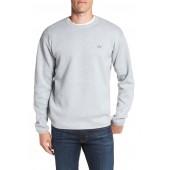 Textured Stitch Crewneck Sweater