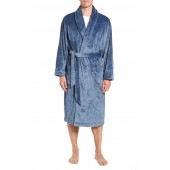 Heathered Fleece Robe