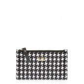 cameron street - mikey houndstooth print wallet