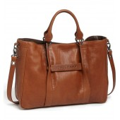 '3D - Small' Leather Tote