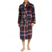 Mountains of Comfort Shawl Fleece Bath Robe