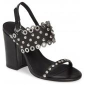 Lucy Studded Quarter Strap Sandal