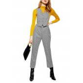 Houndstooth 3-in-1 Jumpsuit