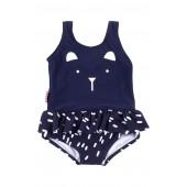 Bear Skirted One-Piece Swimsuit