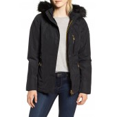 International Aragon Waterproof Breathable Faux Fur Trim Jacket