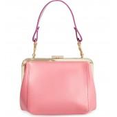 Le Box Leather Top Handle Bag