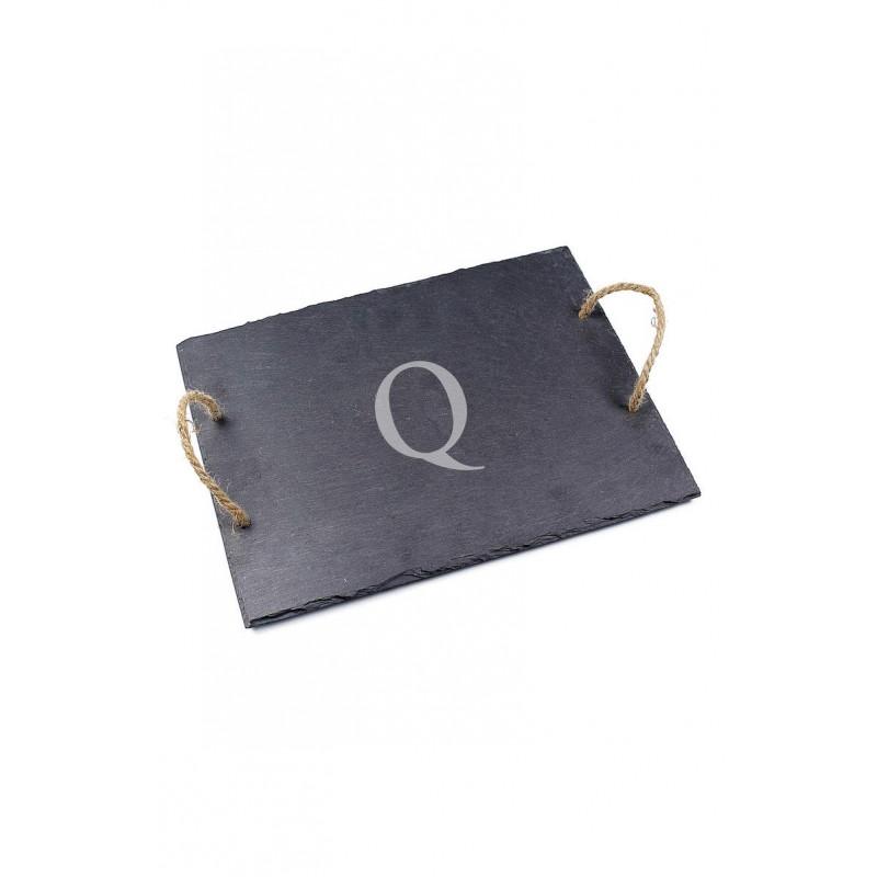 Monogram Slate Serving Board