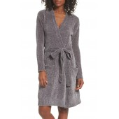 Short Chenille Robe