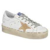 Metallic Star Low Top Sneaker