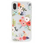 Floral Collage Translucent iPhone X/Xs, XR & X Max Case