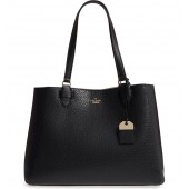 carter street - tyler leather tote