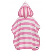 Pink Striped Hooded Towel