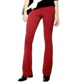 Skinny Ribbed Flare Pants