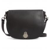 Medium Cavalcade Leather Saddle Bag